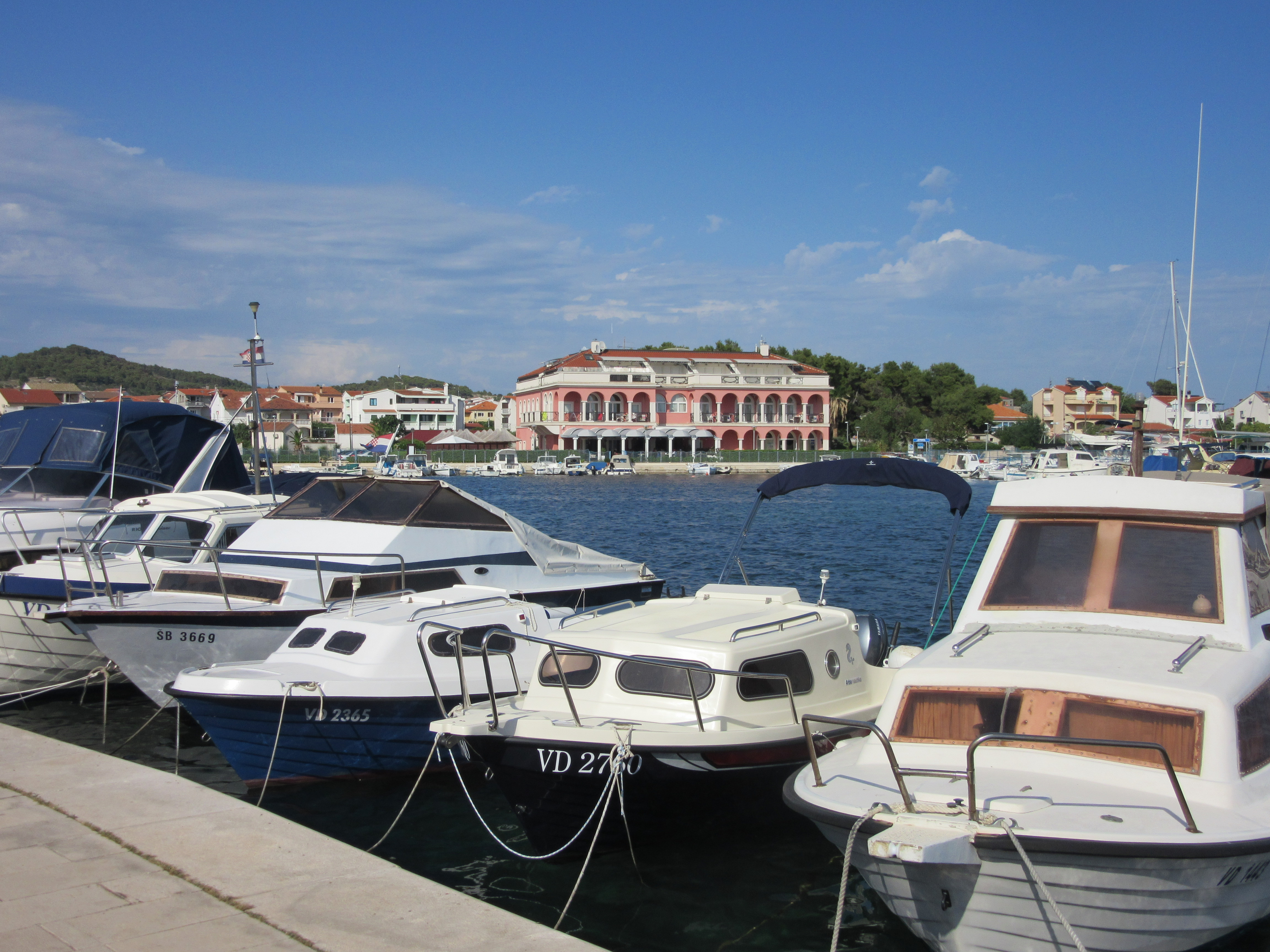 Tribunj, Croatia, fishing town, blue sea, about Tribunj